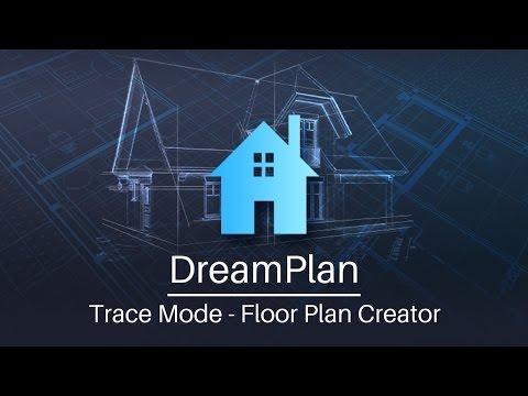 DreamPlan Home Design - Floor Plan Creator Tutorial (Trace Mode)