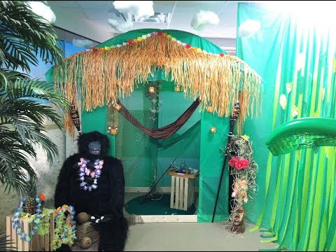How to Build Gilligan's Island Hut Beach Party Cabana Party Prop