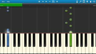 Drake - Legend - Piano Tutorial - How To Play - Synthesia