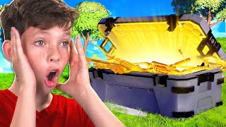 One HENCHMAN Chest Challenge with My Little Brother!