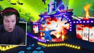 LIVE Fortnite Marshmello Full Concert Reaction! *INSANE*