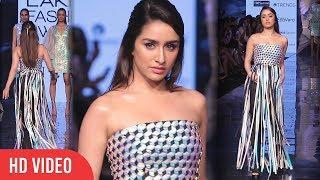Shraddha Kapoor Walks For Rielan By Pankaj And Nidhi At Lakme Fashion Week Summer Resort 2020