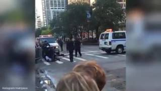 What Happens When You Try To Block United States President Motorcade
