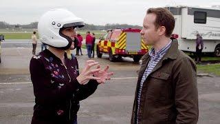 Tamsin Greig Talks Through Her Lap -  Top Gear