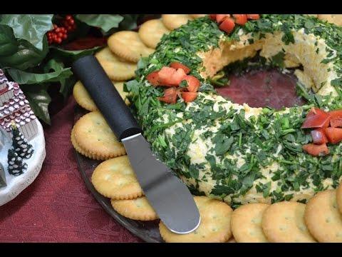 Holiday Appetizer Wreath Garnish Recipe | RadaCutlery.com