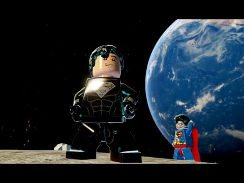 LEGO Batman 3: Beyond Gotham - Superman (Solar Suit) Gameplay and Unlock Location
