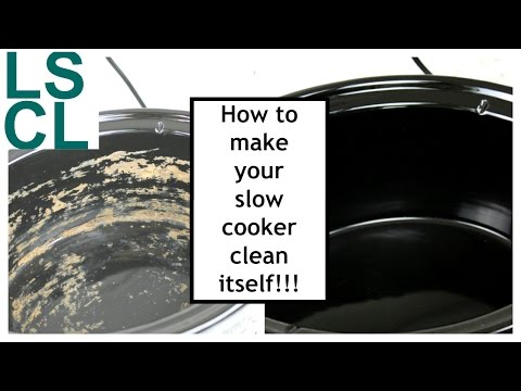 How to Make Your Slow Cooker Clean Itself!