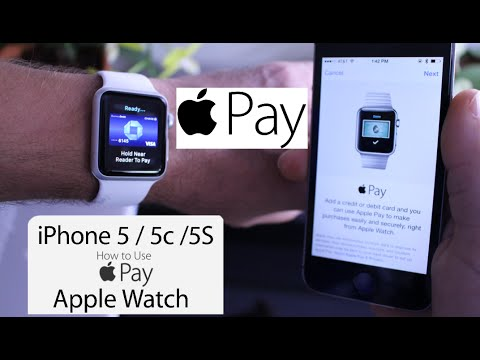 Apple Pay on iPhone 5, 5c, 5s using Apple Watch