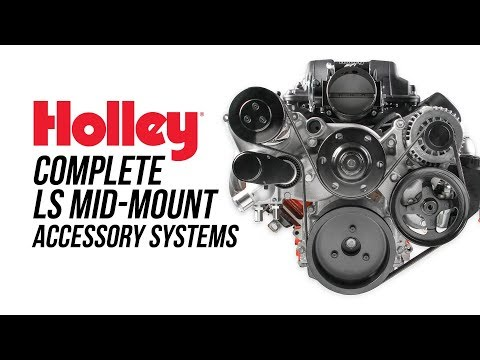 Holley Premium LS/LT Mid-Mount Accessory Systems