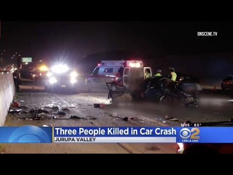 Jurupa Valley: Three Dead in Major Crash on CA-60
