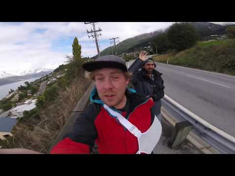 Touristing HARD in queenstown while injured, no bikes!!