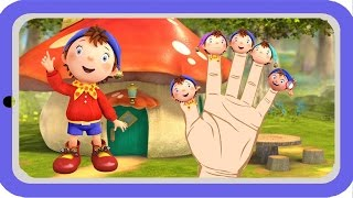 Noddy Finger Family Song | Daddy Finger Songs For Kids | Kids Nursery Rhymes With Lyrics