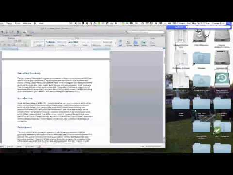 Use OSX to proofread your report