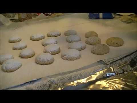 Kourambiedes-Greek Butter Almond Cookies