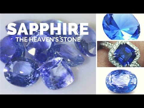 The Heaven's Stone: The Magic of Sapphire -- Crystal Meanings and Uses