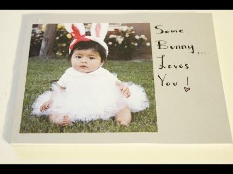 DIY Baby Photo Book Tutorial