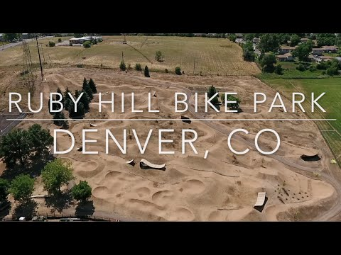 Ruby Hill Mountain and BMX Bike Park Denver Colorado ( Dirt jumps, pump tracks, and slope style )