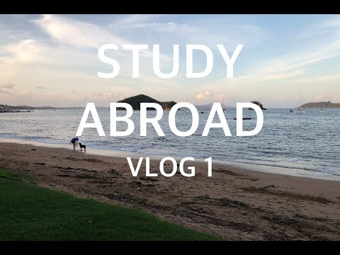 FIRST STUDY ABROAD VLOG!