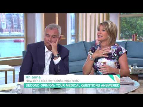 How Can I Stop My Painful Heat Rash? | This Morning