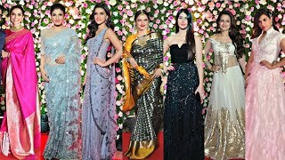 Bollywood Actress At Kapil Sharma Wedding Reception
