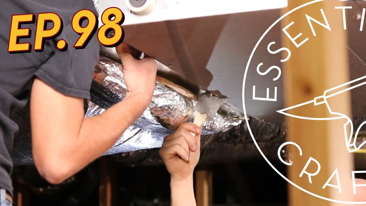 HVAC: Heat Pump and Lines Install Ep.98