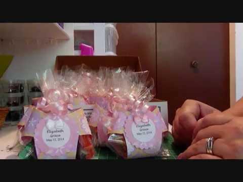 Baby Shower Favors - Diaper Treat Holders