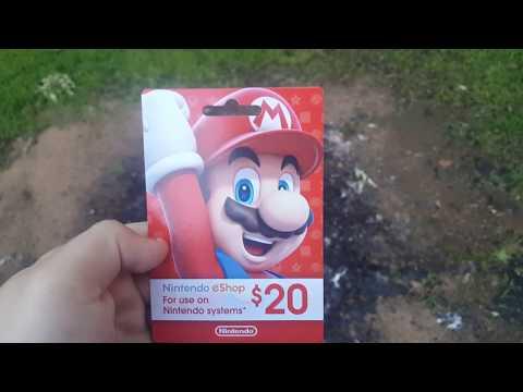 Burning Stuff 575: Nintendo eShop Card