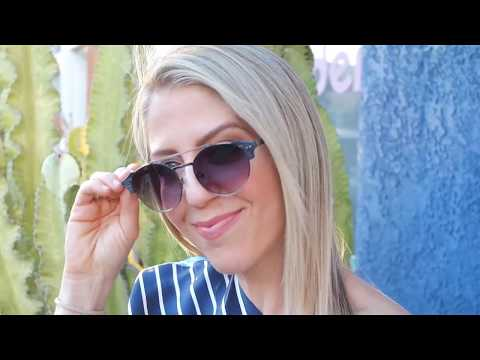 Spring Fashion with Lindsay Albanese - the new Brow Bar Glasses
