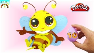 How to make best Play Doh creation (Cute flying Bee)- for kids