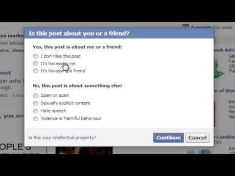 How To Get A Post About Yourself Removed From Facebook