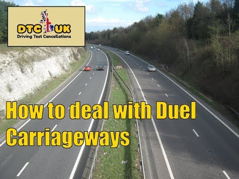 How to Deal with Dual Carriageways  | DTC-UK | Driving Test UK