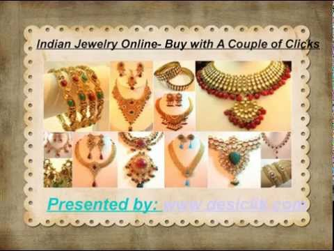Indian Jewelry Online- Buy with A Couple of Clicks