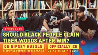 Black People Claim Tiger Woods, Stop Fake Supporting Nipsey Hussle