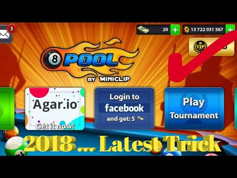 Now Get Unlimited Coin in 8 Ball Pool.. | 2018 Latest Trick  ✌✌
