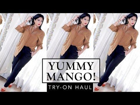 YUMMY MANGO!! Try-on Haul   Sonal Maherali