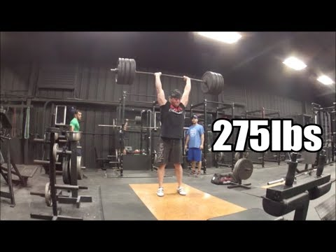 Squat & Clean and Jerk Training