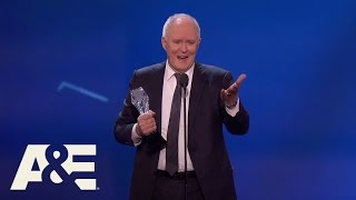 Download John Lithgow Wins Best Supporting Actor in a Drama Series | 22nd Annual Critics' Choice Awards | A&E Video