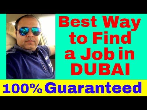 Best Way to Find a Job in Dubai || 100% Guaranteed || Jobs in Dubai