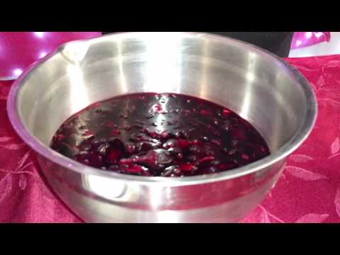 How to make agua de Jamaica also known as Hibiscus tea by dd