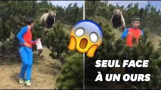 L'incroyable sang-froid d'un enfant suivi par un ours en Italie