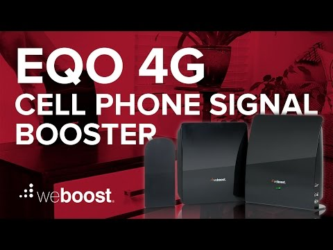 eqo 4G - Cell Phone Signal Booster For Your Home, Apartment or Office | weBoost