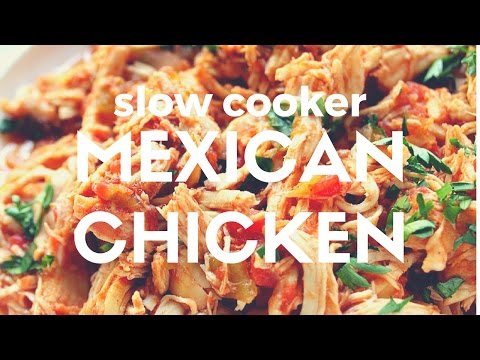 Slow Cooker Mexican Chicken Recipe