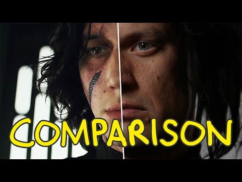 Star Wars: The Last Jedi - Homemade Side by Side Comparison