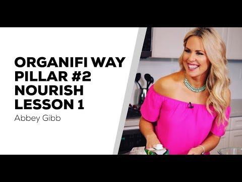 Organifi Way Pillar 3 Nourish - Lesson 1 - Easy Whole Foods Cleanse - Abbey Gibb