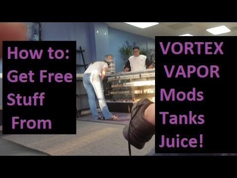 How To Get Free Vaping Supplies