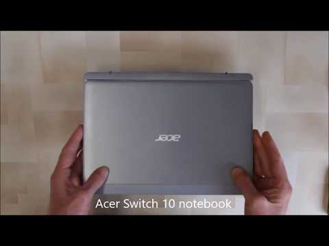 Disassembly of Acer Switch 10 2 in 1 Hard Drive and Keyboard Unit