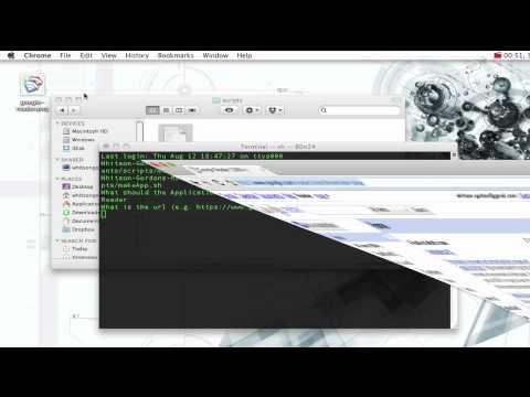 Create Application Shortcuts in Google Chrome for Mac