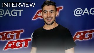 Interview: Dom Chambers Reflects On Dwyane Wade Calling Him Cool - America's Got Talent 2019