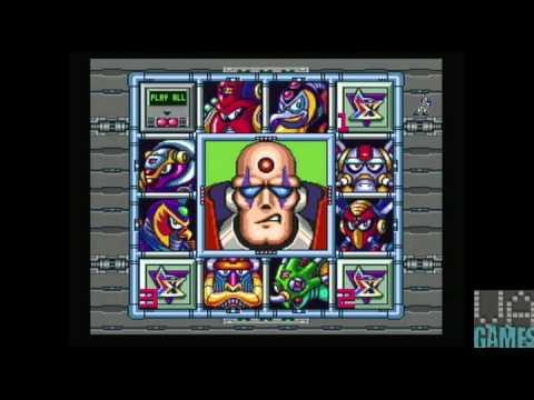 Let's Play Mega Man X- Main Menu