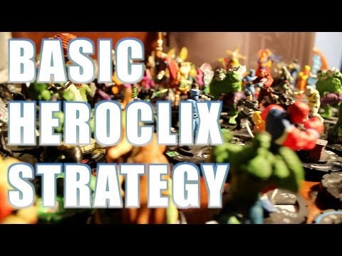 How to Build A Heroclix Team: Basic Heroclix Strategy